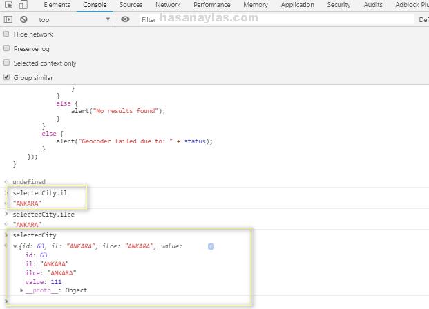 HTML5 GeoLocation İle Harita Üzerinde Konumu Öğrenme